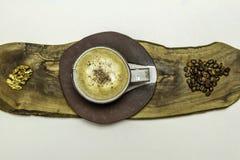 Kaffeabstrakt begrepp Arkivbilder