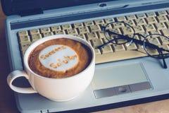 Kaffeaffär Royaltyfri Fotografi