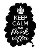 Kaffeaffisch Arkivfoton