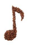 Kaffeanmerkung Stockbilder