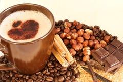 kaffeanstrykningar arkivfoto