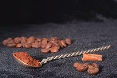kaffeanstrykningar Arkivbild