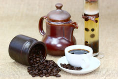 Kaffearom Arkivbild