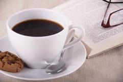 Kaffeavbrott Arkivfoton