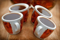 Kaffeavbrott Arkivbild