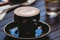 Kaffeböjelse royaltyfri fotografi