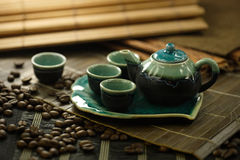 Kaffebönor Fotografering för Bildbyråer