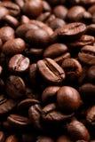 Kaffebönor - bakgrund royaltyfri bild