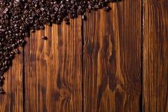 Kaffebakgrund Arkivbild