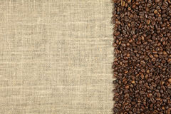Kaffebakgrund Royaltyfri Fotografi