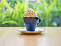 Kaffebakgrund, bakgrundsbegrepp Arkivbilder