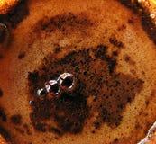 Kaffebakgrundstema Royaltyfri Fotografi