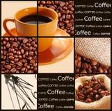 kaffebegrepp Arkivfoton