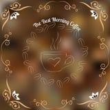 Kaffeblommor Stock Illustrationer