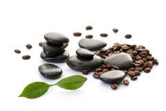 kaffebrunnsort arkivfoton