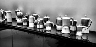 kaffebryggare Royaltyfria Bilder