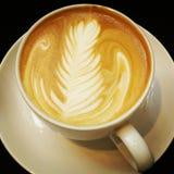 kaffecafelatte Arkivfoto