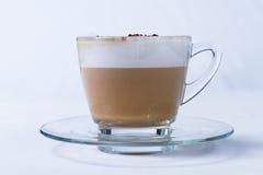 Kaffecappuccino eller Latte Royaltyfri Bild