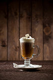 Kaffecoctail med kräm Royaltyfri Foto