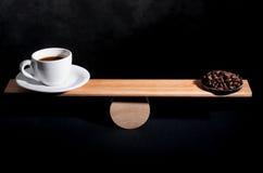 Kaffedosen Arkivfoton