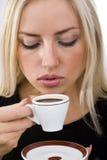 kaffedrink Fotografering för Bildbyråer