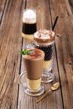 kaffedrinkar Royaltyfria Bilder