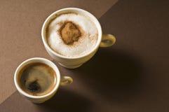 kaffedrinkar Royaltyfria Foton