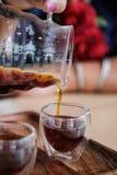 Kaffedroppande Royaltyfri Foto
