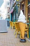 Kaffee auf der Straße Gorinchem. Stockfotos