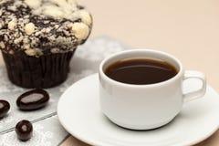 Kaffee auf der Tabelle Lizenzfreies Stockbild