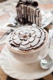 Kaffee auf Ferien Lizenzfreies Stockfoto