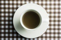 Kaffee auf Tabelle Lizenzfreie Stockfotos