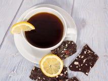 Kaffee auf weißem Hintergrund stockbild