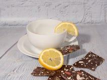Kaffee auf weißem Hintergrund stockbilder