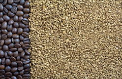Kaffee backgound Stockbilder