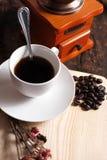 Kaffee bearbeitet Retro- maschinell Stockfotos