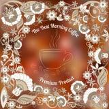 Kaffee-Blumen Stockfotos