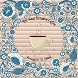 Kaffee-Blumen Lizenzfreie Stockbilder