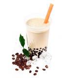 Kaffee Boba Luftblasen-Tee stockfoto
