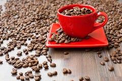 Kaffee, Bohnen, Braun, Morgen, Aroma, briet, Hintergrund stockbild