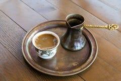 Kaffee in Bosnien Stockfotografie