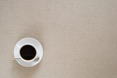 Kaffee CupLayout Lizenzfreie Stockbilder