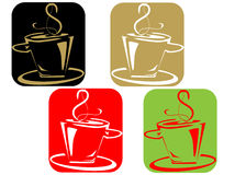 Kaffee cuple Lizenzfreie Stockbilder