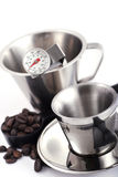 Kaffee, der Hilfsmittel herstellt Lizenzfreies Stockfoto