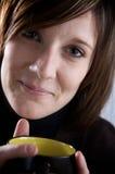 Kaffee in der Küche Lizenzfreie Stockfotos