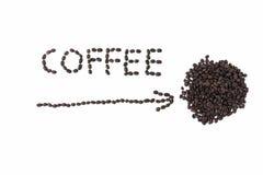 Kaffee dort Lizenzfreie Stockbilder