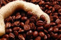 Kaffee in einem Beutel Lizenzfreies Stockbild