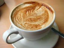 Kaffee in einer Schale. Lizenzfreie Stockfotografie
