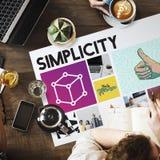 Kaffee-Einfachheits-Innovations-Arbeits-Konzept stockbilder