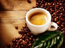 Kaffee-Espresso lizenzfreies stockfoto